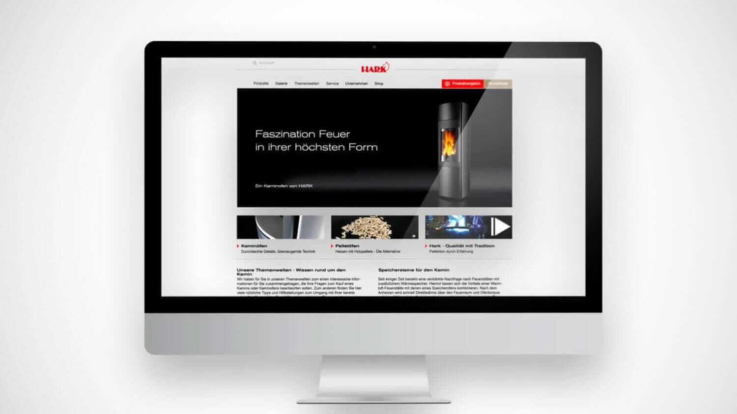 hark neue website